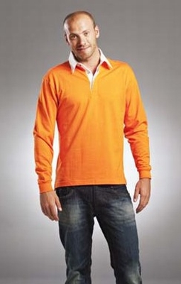 L&S Rugby Shirt Solid