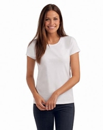 Hanes Women's Crew Neck T-shirt organic