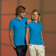 L&S Organic Fit Polo for him and her